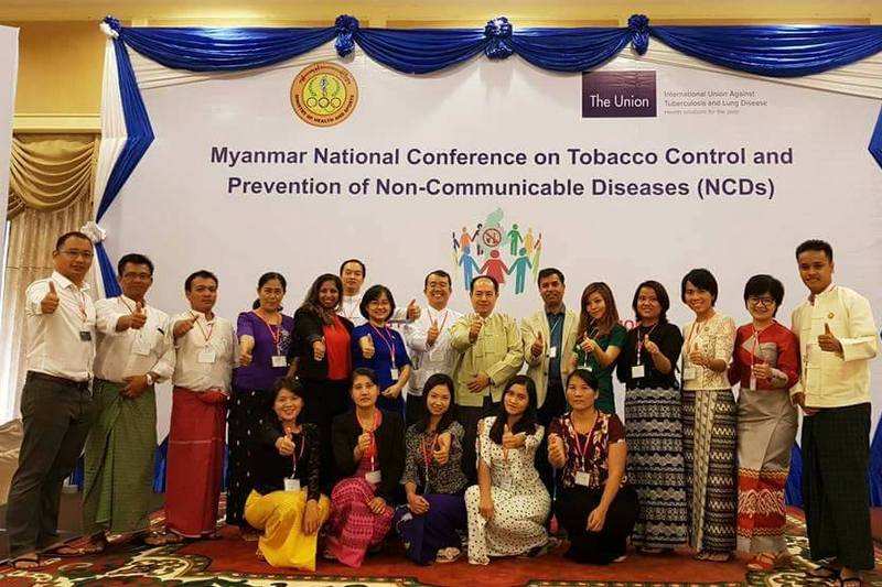 Myanmar to scale up high impact policies to reduce tobacco use