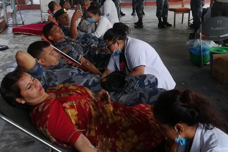 रक्तदान जीवनदान : लिने दिने दुवैलाई लाभ