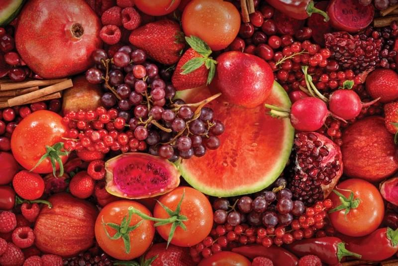 स्वास्थ्यका लागि गुणकारी राता फलफूल तथा तरकारी