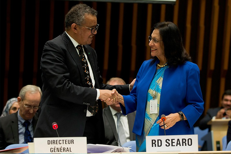 Dr Singh appointed WHO Regional Director for second term