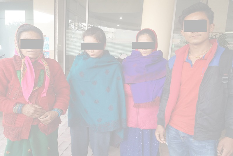 भारतबाट उद्धार गरिएका चेलीकाे डीएनए परीक्षण गरी लगाइयाे परिवारकाे जिम्मा