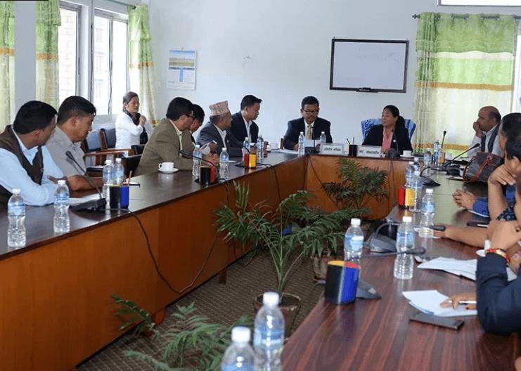'सुरेश वाग्ले मेमोरियल क्यान्सर अस्पताल' बारे संसदीय समितिकाे चासाे