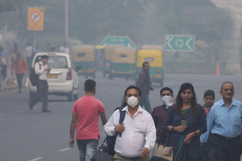 भारतको प्रदूषण चीनको भन्दा बढी हानिकारक, यस्ताे छ कारण