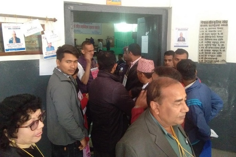 नेपाल स्वास्थ्यकर्मी संघको मतदान सम्पन्न, ५७५ मत खस्याे