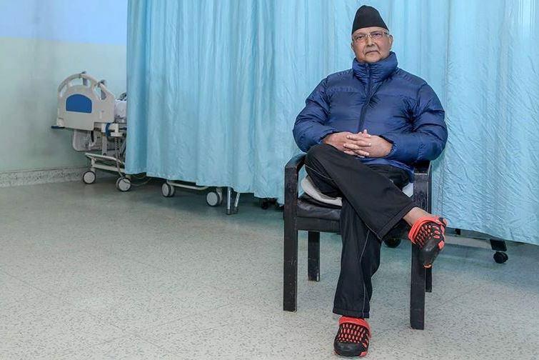 प्रधानमन्त्री ओली केही दिन अस्पतालमै रहने