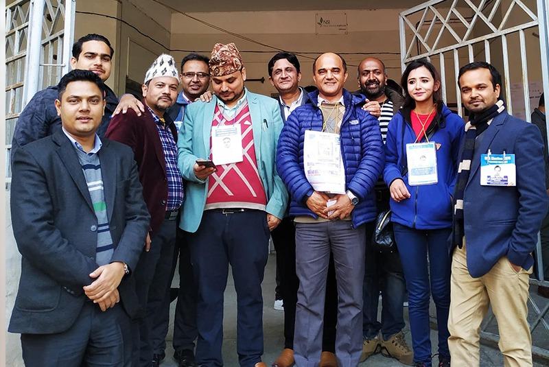 नेपाल चिकित्सक संघ  निर्वाचन : उपत्यकाबाहिरको मतदान सम्पन्न