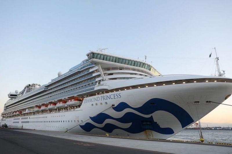 जापानमा पानीजहाज क्वारेन्टाइन : सबै यात्रुहरू बाहिरिँदै