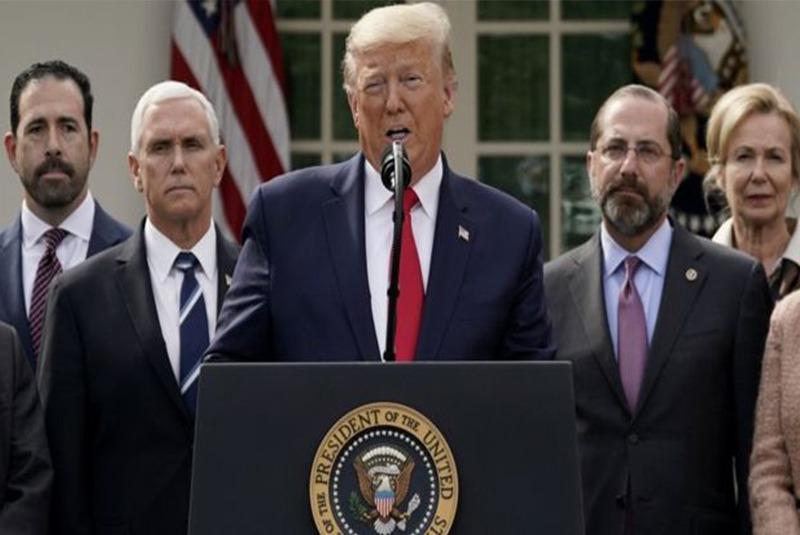 अमेरिकी राष्ट्रपति डोनाल्ड ट्रम्पलाई कोरोना संक्रमण
