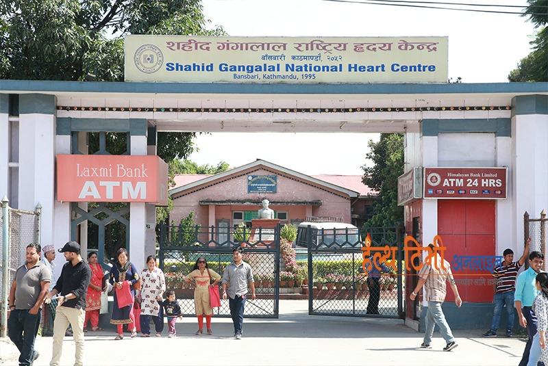 गंगालाल अस्पतालमा भर्ना भएका ७ जना बिरामीमा कोरोना पुष्टि, अस्पतालको सेवा प्रभावित
