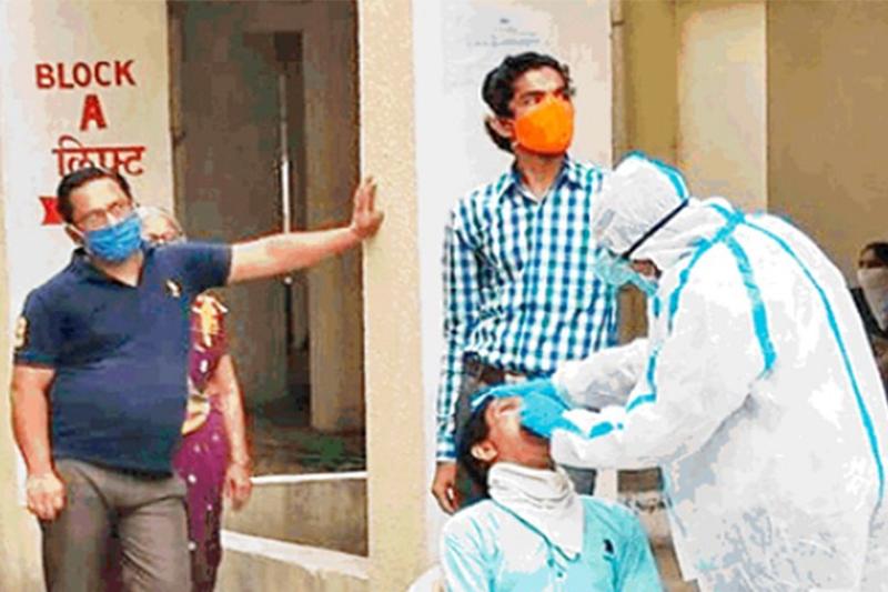 भारतमा कोरोना कहर : एकैदिन थपिए २८ हजार संक्रमित