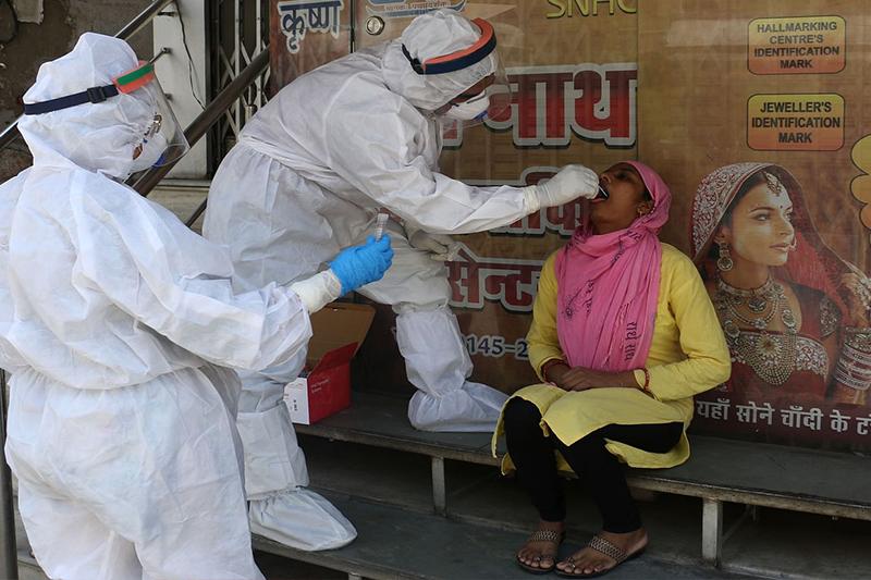 भारतमा कोरोना कहर : एकैदिन १ लाख २६ हजारमा संक्रमण पुष्टि, ६८४ जनाको मृत्यु