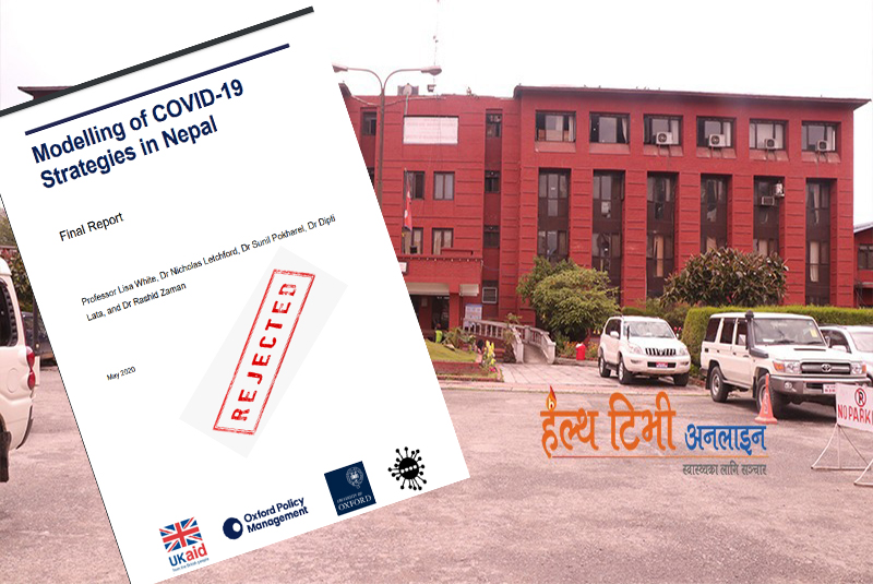 Nepal govt rejects report claiming COVID-19 will infect 81% Nepalis