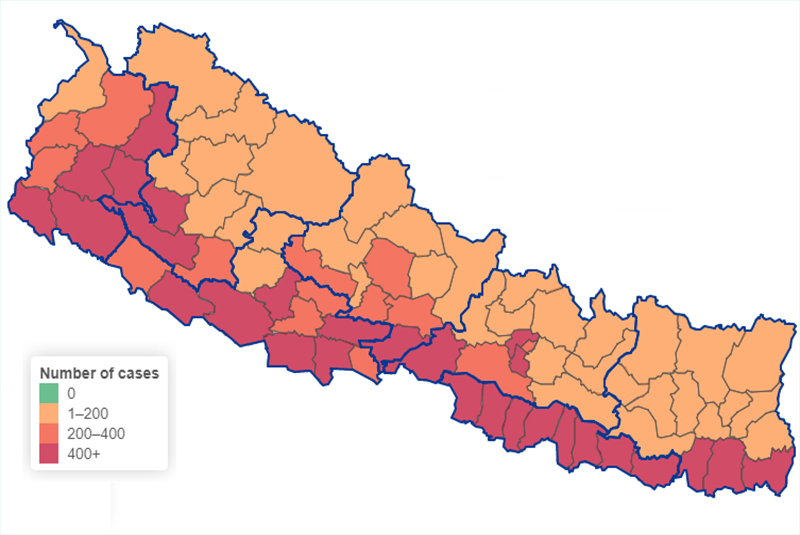 Kathmandu Valley records highest single day COVID-19 case